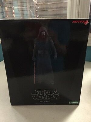 Star Wars Kylo Ren Kotobukiya 1:10 Scale Pre-painted Model Kit No Lightsaber