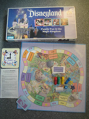 Vintage The Disneyland Game 35 Years Of Magic Parker Bros 1990 Complete