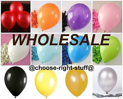 25-500 Latex PLAIN BALONS BALOONS helium BALLOONS Quality Party Decorations NEW