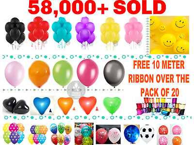5-100 LARGE PLAIN BALONS BALLONS helium BALLOONS Quality Birthday Wedding BALOON