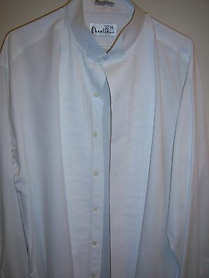 White Tuxedo Wing Collar Formal Shirt most mens sizes avilable