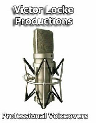 On Hold Message Talent, Voice Mail Greeting, Audio Book, 45 Yr Pro w/Pro Studio
