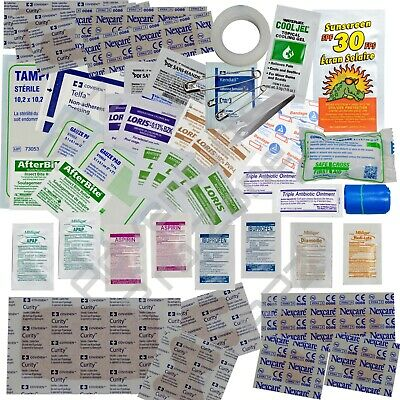 First Aid Medical Kit Refill Extra- 35pcs - Medical & Wound. Military IFAK Issue