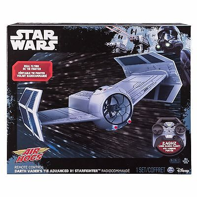 New AIR HOGS STAR WARS 2.4 GHZ ADVANCED RC TIE FIGHTER