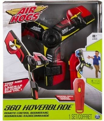 New AIR HOGS 360 HOVERBLADE RC REMOTE CONTROL BOOMERANG