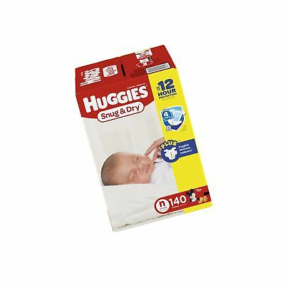 Huggies Snug and Dry Diapers Newborn 140 Count
