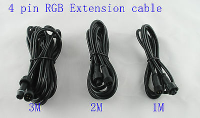 4-Pin Extension Cables for 12v LED Deck & In-Ground 4 Core Deck lights RGB