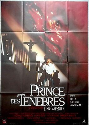 1987 PRINCE OF DARKNESS John Carpenter HORROR 47x63 French movie poster