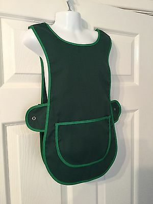 Wholesale Job Lot 4 Brand New Kids Childrens Tabards Aprons Green Clothes