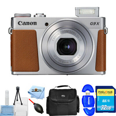 Canon PowerShot G9 X Mark II Digital Camera (Silver)!! STARTER BUNDLE BRAND NEW!