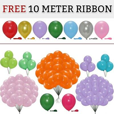 PLAIN LARGE BALONS BALLONS helium BALLOONS Quality Birthday Wedding BALOONS