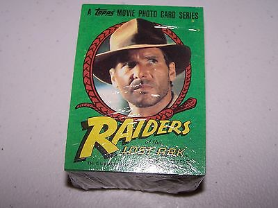1981 Raiders Of The Lost Ark Trading Card Set (88) EX/MT-NM