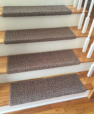 Scenic City Bonnie Oaks TRUE Bullnose™ Carpet Stair Tread Scotchgard Pet  Safe