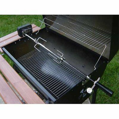 Char-Griller 5022 Deluxe Rotisserie Kit for Outdoor Grills