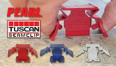 Tuscan SeamClip The Lippage-Free Tile Leveling System   ~ ALL SIZES  ~