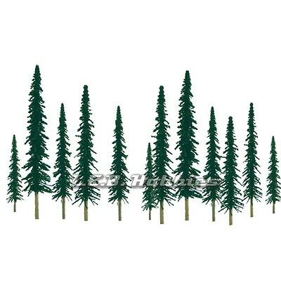 "JTT Scenery Products Conifer Tree O-Scale 6"" to 10"" Super Scenic 12/pk 92012"