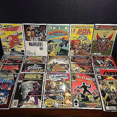 Lot of 20 #1 First Issue / Appearance Marvel DC Silver Bronze Age F to NM no CGC