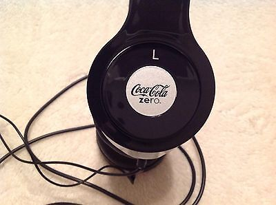 Coca Cola Zero ADULT ADJUSTABLE Stereo HEADPHONE w/NCAA Final Four Logo