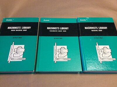 1975 Audel Machinists Library - Basic Machine Shop-Machine Shop-Toolmaker Handy