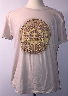 Chris Isaak Beyond the Sun North American Concert Tour Shirt XL Extra Large