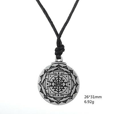 Sri Yantra for Growth and Healing Amulet Wealth Goddess Talisman