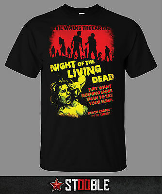 Night of the Living Dead T-Shirt - Direct from Stockist