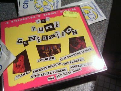 Various - Punk Generation - Various CD 8GVG The Cheap Fast Free Post The Cheap