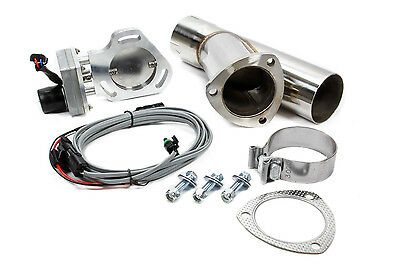 PYPES 3 in Pipe Diameter Bolt-On Electric Exhaust Cut-Out Kit P/N HVE13K