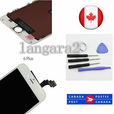 For iPhone 6 Plus  Display LCD Screen Replacement Touch Digitiser Assembly White