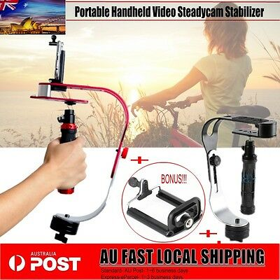 Handheld Video Stabilizer For Canon Nikon DSLR Camera Gopro iPhone 7 Samsung s7