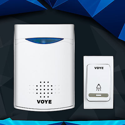 VOYE V006B Home&shop Security  Wireless receiver1 Doorbell&1xRemote control