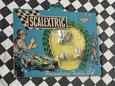 Scalextric 1960's Presentation Trophy Set  A263   New Old Stock On Card