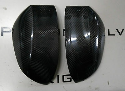 Real carbon fiber wing mirror trim set cover M Performance style X6 x5 x