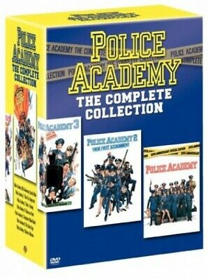 Police Academy - The Complete Collection (7 Disc Box Set) [1984] ... - DVD  COVG