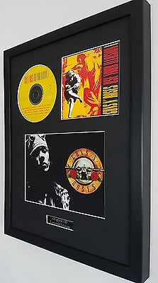 Guns N' Roses Framed Use For Illusion Original CD-Ltd Edt-Plaque-Certificate