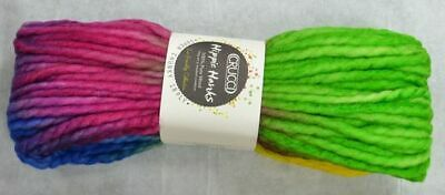 Crucci Hippie Hanks Knitting Yarn 100% Pure Wool 18 Ply, 100g Hanks #53 APPLES