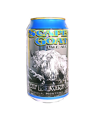 Big Sky Scape Goat PA Cans 355mL case of 24 International Beer Pale Ale