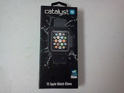 Catalyst Series 1 Waterproof Case and Band for Apple Watch 42mm - Black