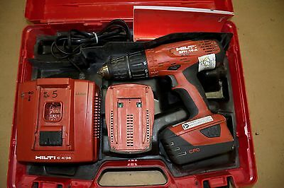 Hilti SFH 18-A 3 Speed Drill Driver cordless 18V 2 Batteries and Charge