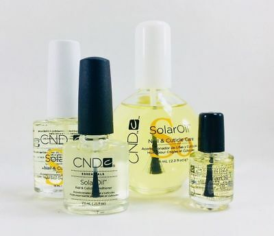 Authentic CND SOLAR OIL Nail & Cuticle Care 3.7ml/ 7.3ml/ 15ml/ 68ml - PICK SIZE