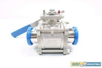 New Dixon Cf8m 1000wog 2 In Tri-clamp Stainless Ball Valve