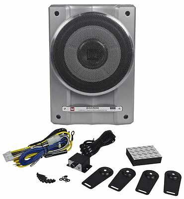 "Dual BAK1500 10"" 1500W Active/Powered Under Seat Slim Car Subwoofer Enclosure"