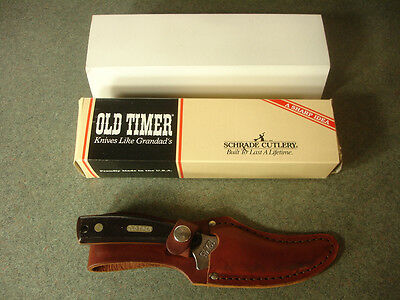 SCHRADE Old Timer 152OT Fixed Blade Knife Wheelie Bar Grill York, PA Motorcycle