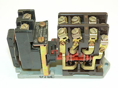 Joslyn Clark TB-139-1 PMS 5S Contactor 110/120v Coil Used As Seen In Pic