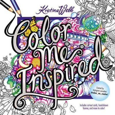 Color Me Inspired by Kristina Webb 9780062480323 (Paperback, 2016)