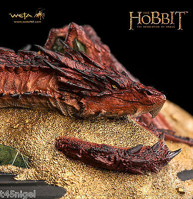 Weta ~ Der HobbitThe Desolation von Smaug : smaug - King Unter the Mountain