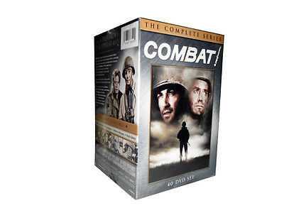 ,Combat! The Complete Series DVD (2013) Brand New 40-Disc Seasons 1-5,New!