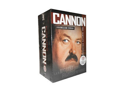 ,Cannon: The Complete Collection Series (DVD, 2015, 31-Disc Set) *** NEW !!!!!!