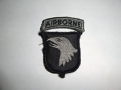 Military Patch Us Army Combat Used Acu Hook Loop Set 101St Airborne Division