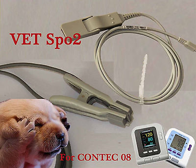 Vet Veterinary SPO2 Probe For CONTEC Blood Pressure Monitor CONTEC08A/O8C